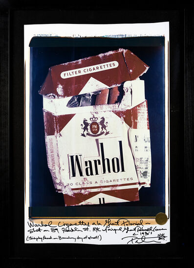 Peter Tunney, 'WARHOL CIGARETTES', 2015