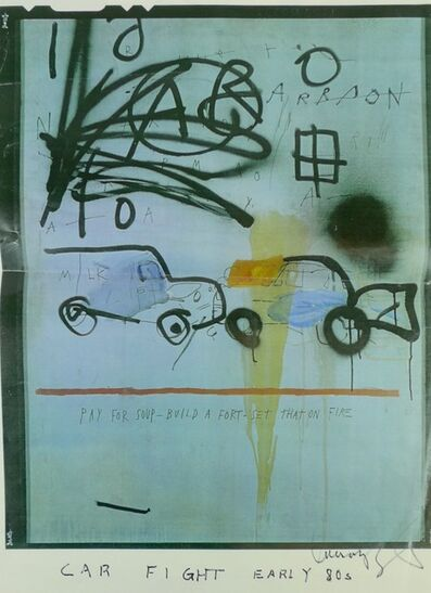Jean-Michel Basquiat, 'Untitled (Car Crash)', ca. 1980