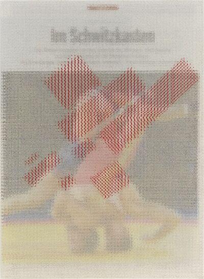 John Sparagana, 'Der Spiegel (Headlock) with 25% Kazimir Malevich', 2013