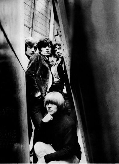 "Gered Mankowitz, 'The Rolling Stones. ""Out of Our Heads"" Cover (U.S. Title: ""December's Children."") Ormond Yard. This image became my first cover for the band, and was the fulfilment of a dream for me at the age of 18! The original negative for this image was lost years ago', 1965"