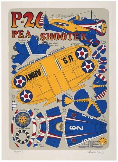 Malcolm Morley, 'P-26 Pea Shooter', 2001