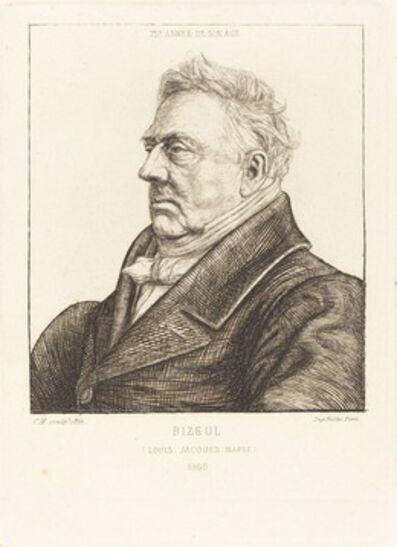Charles Meryon, 'L.J.-Marie Bizeul, a Breton Archaeologist', 1861