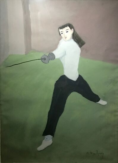 Milton Avery, 'The Fencer', 1940-1950