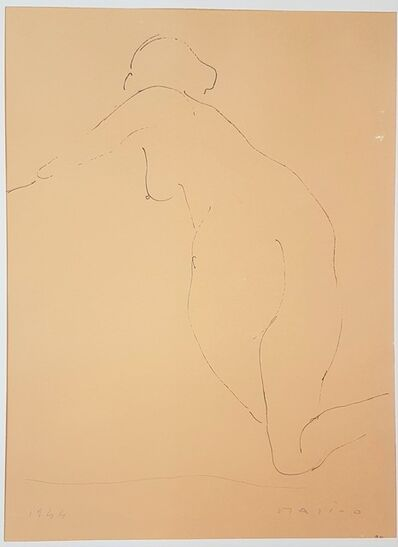 """Marino Marini, 'The View - From """"A Suite of Sixty-three Re-creations of Drawings and Sketches in Many Mediums"""" ', 1968"""