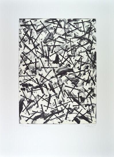 Günther Uecker, 'Verletzungen - Verbindungen (hell)', 2000-2010