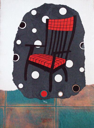 """David Thuku, 'Series """"Empty seats"""" - Untitled VI', 2019"""
