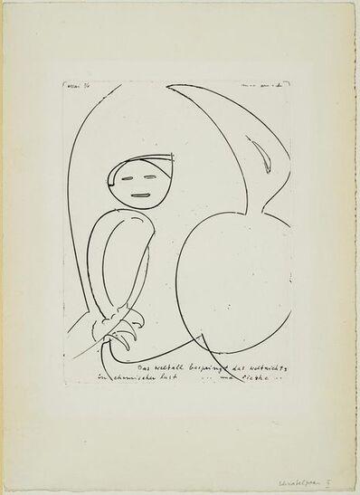 Max Ernst, 'From: Das Schnabelpaar', 1953