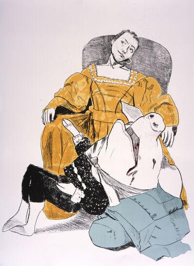 Paula Rego, 'Unhappy Courtship', 2006