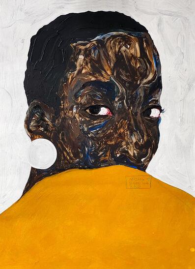 Amoako Boafo, 'Aurore Iradukunda', 2020