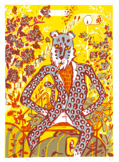 Yeung Hok Tak, 'Big Cat Pissing', 2015