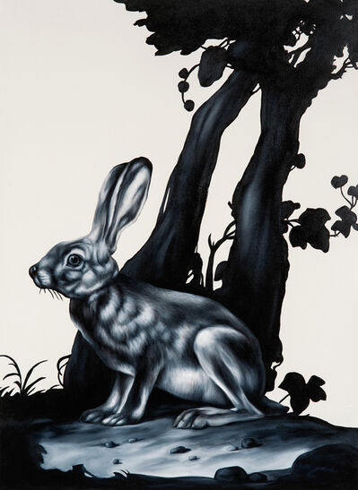 Shelley Reed, 'Hare (after Berjer and van Kouwenbergh) ', 2016