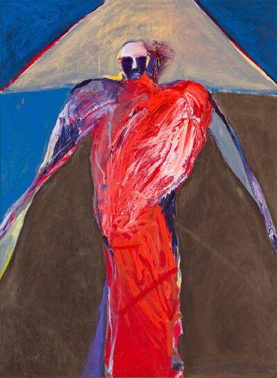 Fritz Scholder, 'Orange Shaman', 1985