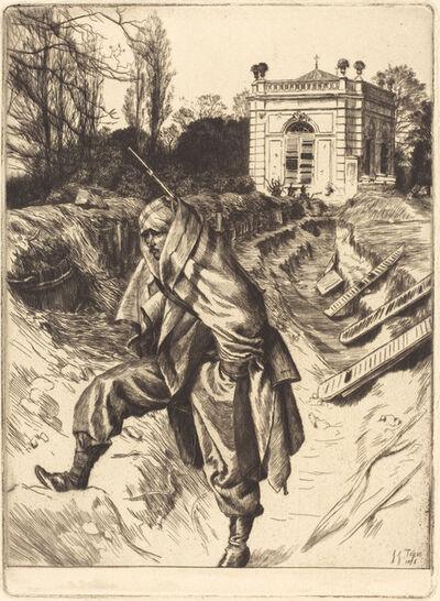 James Jacques-Joseph Tissot, 'Grand Garde (Souvenir du siège de Paris)', 1878