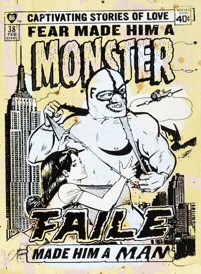 FAILE, 'Monster III', 2007