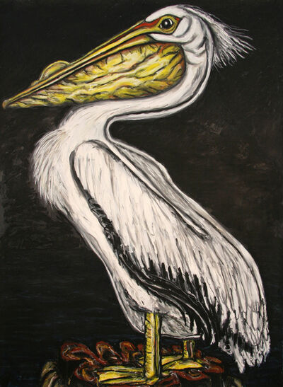Frank X. Tolbert, 'White Pelican', 2015