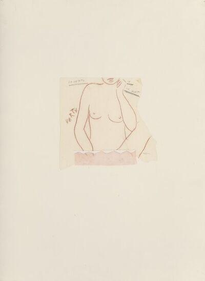 Ernesto Tatafiore, 'La vertu ou la morte', 1981