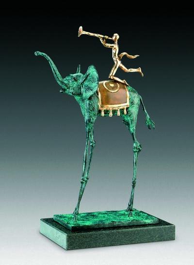 Salvador Dalí, 'Triumphant Elephant', 1975