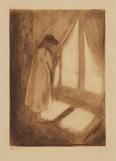 Edvard Munch, 'The Girl at the Window (Das Mädchen am Fenster)', 1894