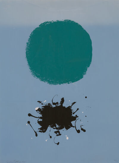 Adolph Gottlieb, 'Black Splash', 1967