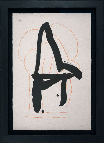 Robert Motherwell, 'Beau Geste IV', 1989