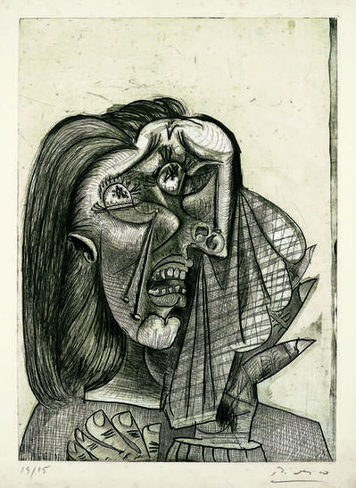 Pablo Picasso, 'La femme qui pleure I (Weeping Woman I)', 1937