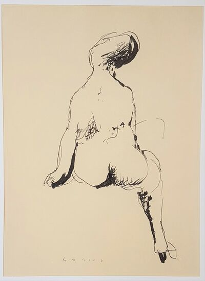 """Marino Marini, 'A Dream - From """"A Suite of Sixty-three Re-creations of Drawings and Sketches in Many Mediums"""" ', 1968"""