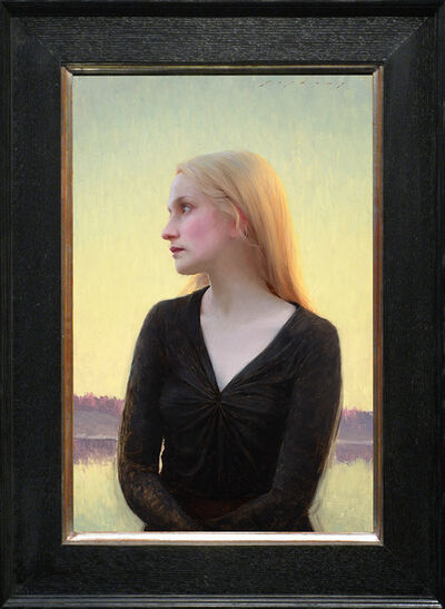 Jeremy Lipking, 'Sofie at Dusk', 2013