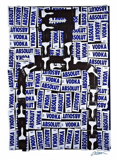 Arman, 'Absolut Vodka', 1990