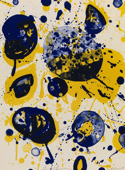 Sam Francis, 'An 8 Set - 5', 1963