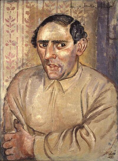 Otto Dix, 'Bildnis Jankel Adler (Portrait of Jankel Adler)', 1926