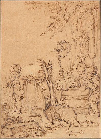 François Boucher, 'Les Bulles de Savon', 1754