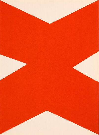 Ellsworth Kelly, 'Derrière le Miroir No. 110 Kelly', 1958