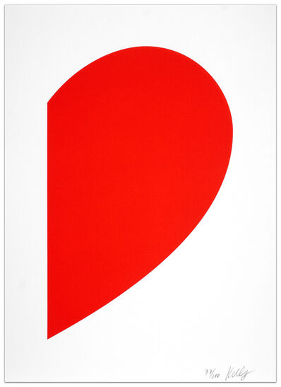 Ellsworth Kelly, 'Small Red Curve', 2012