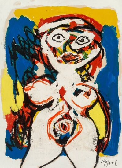 Karel Appel, 'Woman'