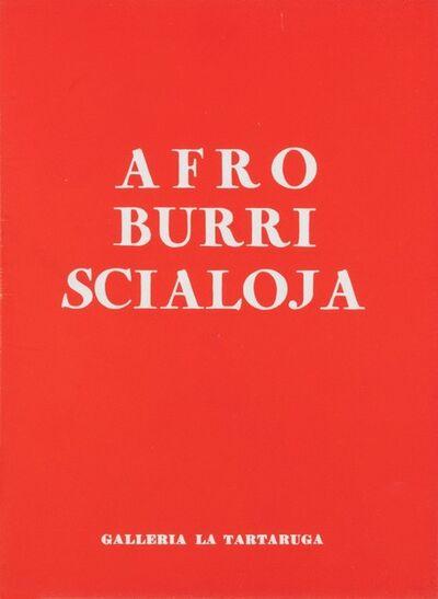Alberto Burri, 'Recent works', 1957