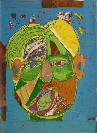 Isaiah Zagar, 'Collaged Isaiah ', 1984
