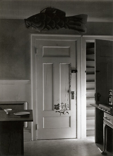 Minor White, 'Attic Door, 72 N. Union Street, Rochester, NY', 1956/1956c