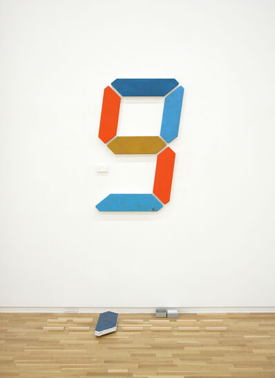 Tatsuo Miyajima, 'Painting of Change - 008', 2020