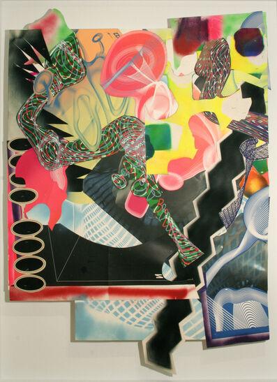 Frank Stella, 'Michael Kohlhaas panel #1', 1999