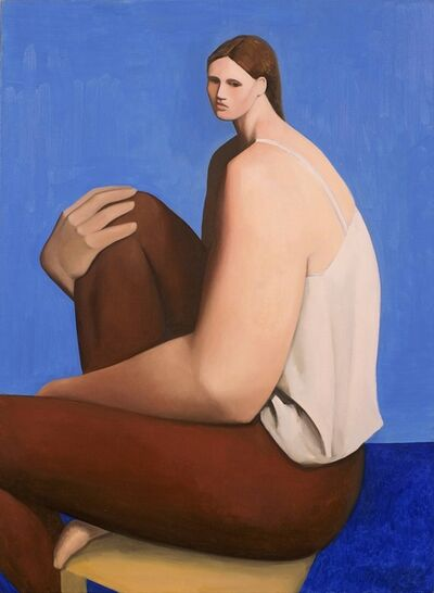 Tony Toscani, 'Woman In Brown Pants', 2018