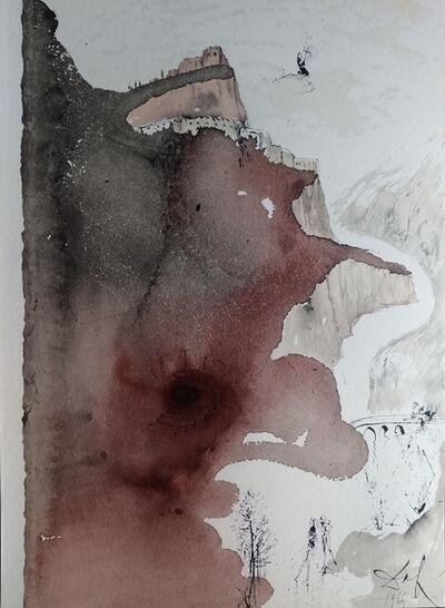 """Salvador Dalí, 'Et baptizatus est a Ioanne in Iordane - From """"Biblia Sacra""""', 1964"""