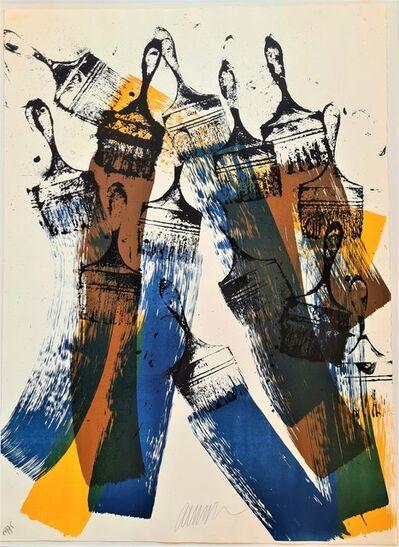 Arman, 'Papier brossé', 1988
