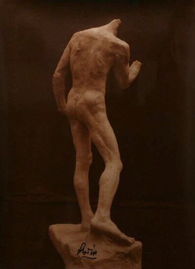 Jacques-Ernest Bulloz, 'Study for August Rodin's 'The Burghers of Calais': Pierre de Wissant, View from Behind', 1886