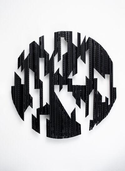 Christine Liebich, 'Dark Knight Circle Black 1', 2021