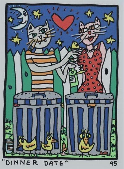 James Rizzi, 'Dinner Date', 1995