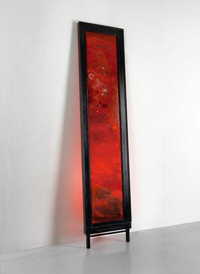 Darren Waterston, 'Leaning Panel (Scarlet)', 2014