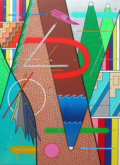 """Sixe Paredes, '""""Naturaleza abstracta 04""""', 2017"""