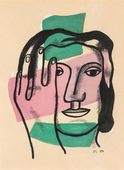 Fernand Léger, 'Tete de Femme,', 1950