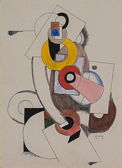 Joseph Csaky, 'Composition cubist', 1919