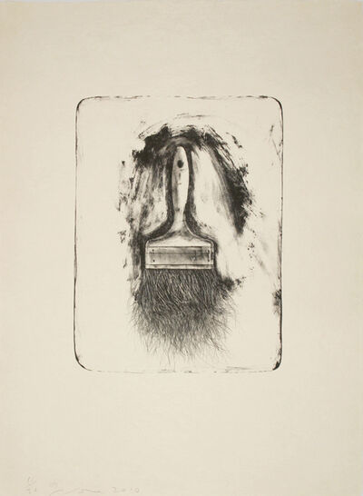 Jim Dine, 'Brushes Drawn on Stone #1', 2010